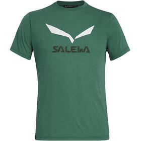 SALEWA Solidlogo Dry Koszulka z krótkim rękawem Mężczyźni, myrtle melange